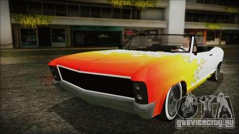 GTA 5 Albany Buccaneer Custom для GTA San Andreas вид сбоку