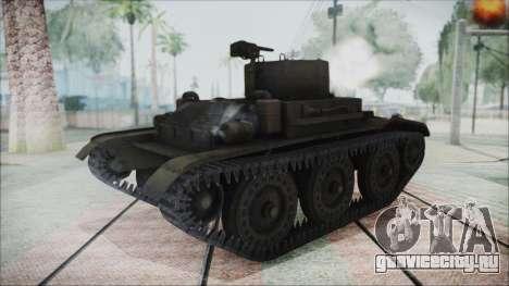 T7 Combat Car для GTA San Andreas вид сзади слева
