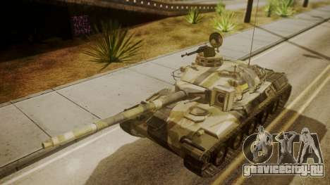 AMX 30 from Mercenaries 2 World in Flames для GTA San Andreas вид справа