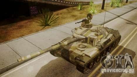 AMX 30 from Mercenaries 2 World in Flames для GTA San Andreas вид справа