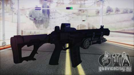 SOWSAR-17 Type G Assault Rifle with Grenade для GTA San Andreas второй скриншот