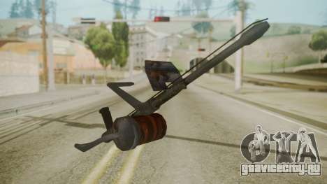 GTA 5 Flame Thrower для GTA San Andreas