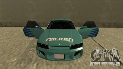Nissan Skyline R33 Drift Falken для GTA San Andreas вид сверху