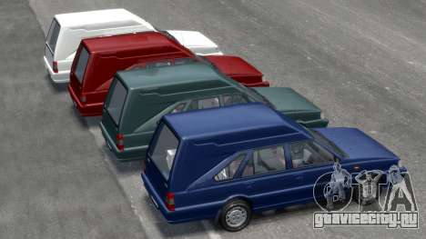 Daewoo-FSO Polonez Cargo Van Plus 1999 для GTA 4 колёса