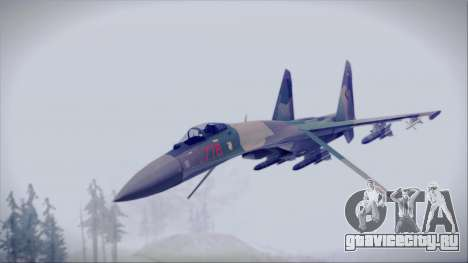 Sukhoi SU-35S East German Air Force для GTA San Andreas