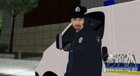 Национальная Полиция Украины для GTA San Andreas