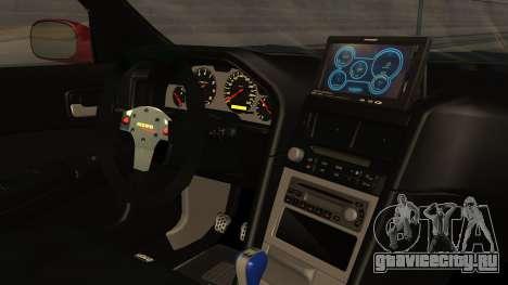 Nissan Skyline R34 FnF 4 v1.1 для GTA San Andreas вид справа