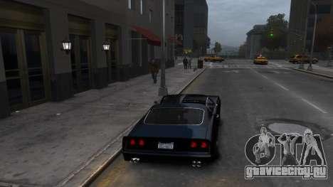 Classic Muscle Phoenix IV для GTA 4 вид справа