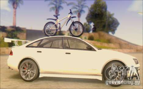 Obey Tailgater Special Tuning для GTA San Andreas вид слева