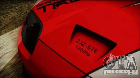 Toyota Supra JZA80 Kantai Collection Haruna PJ для GTA San Andreas вид изнутри
