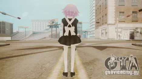 Neptune Maid [Hyperdimension Neptunia] для GTA San Andreas третий скриншот