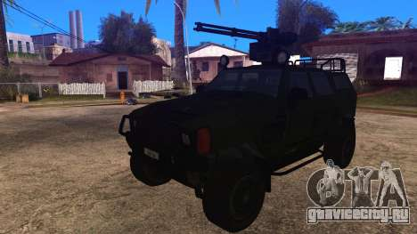 Komatsu LAV 4x4 with Vulcan Gatling Gun для GTA San Andreas