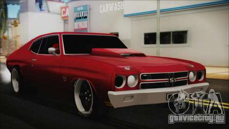 Chevrolet Chevelle Drag Car для GTA San Andreas