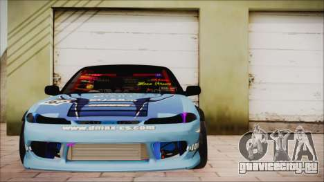 Nissan Silvia S15 DMAX для GTA San Andreas вид сзади