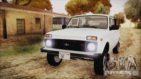 ВАЗ 2329 Нива 4x4 для GTA San Andreas