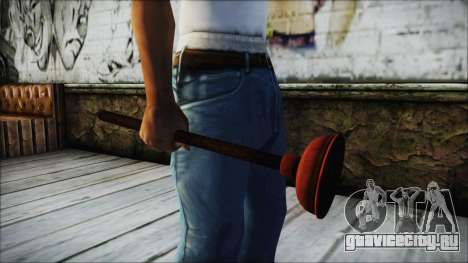 Plunger HD для GTA San Andreas второй скриншот
