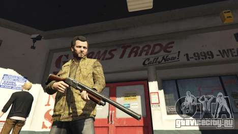 Remington 870e для GTA 5
