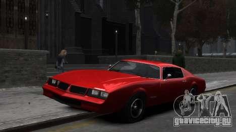 Classic Muscle Phoenix IV для GTA 4