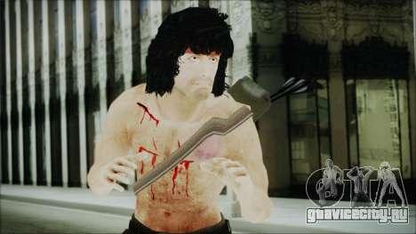 Rambo Skin для GTA San Andreas