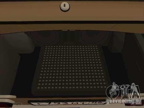 Vaz 2101 V1 для GTA San Andreas вид изнутри