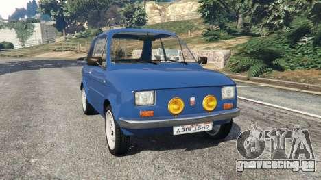 Fiat 126p v1.1 для GTA 5