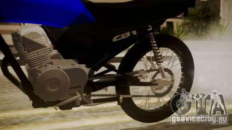 Honda CB1 для GTA San Andreas вид справа