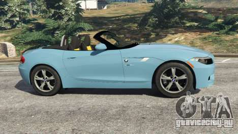 BMW Z4 sDrive28i 2012 для GTA 5 вид слева