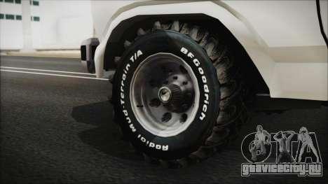 Ford F-150 Con Sonido для GTA San Andreas вид сзади слева