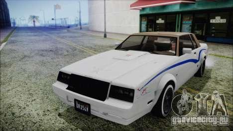 GTA 5 Willard Faction Custom without Extra IVF для GTA San Andreas вид сбоку