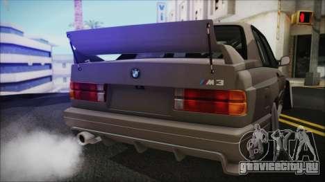 BMW M3 E30 Camber для GTA San Andreas вид справа