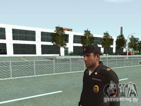 Сержант ППС в форме нового образца для GTA San Andreas третий скриншот