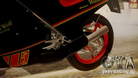 Suzuki RG 250G Walter Wolf для GTA San Andreas вид справа