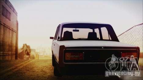 ВАЗ 2106 Хулиган Azeri Style для GTA San Andreas вид сзади слева