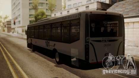 Todo Bus Agrale MT17.0LE AA для GTA San Andreas вид слева