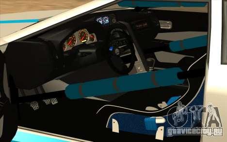 Elegy DRIFT KING GT-1 для GTA San Andreas вид сверху