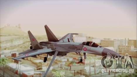 Sukhoi SU-27 Royal Danish Air Force для GTA San Andreas