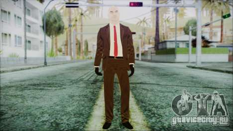 Hitman Absolution Agent 47 для GTA San Andreas второй скриншот