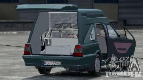 Daewoo-FSO Polonez Cargo Van Plus 1999 для GTA 4 вид справа