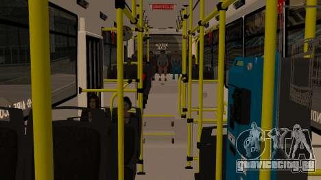 Todo Bus Agrale MT17.0LE AA для GTA San Andreas вид сзади