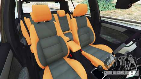 Volkswagen Golf Mk6 Police для GTA 5
