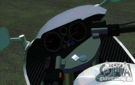 BMW R1200S Мотобат (ДПС) для GTA San Andreas вид слева