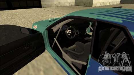 Nissan Skyline R32 Drift Falken для GTA San Andreas вид изнутри