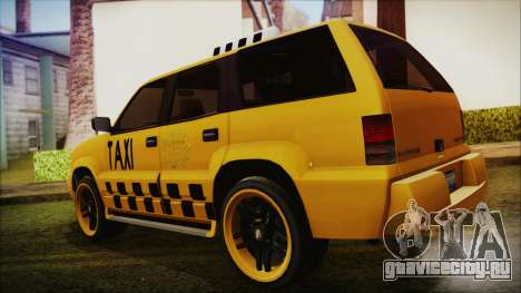 Albany Cavalcade Taxi (Hotwheel Cast Style) для GTA San Andreas вид слева