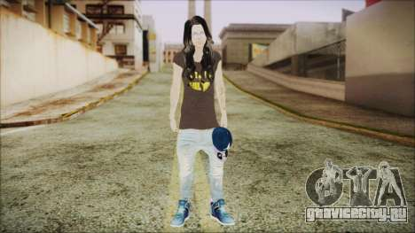Home Girl SWAG для GTA San Andreas второй скриншот