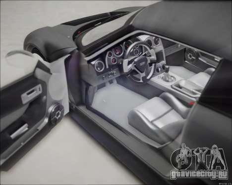 Rossion Q1 2015 для GTA San Andreas вид сзади слева