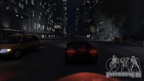 Adder HQ from GTA 5 для GTA 4 вид сзади слева