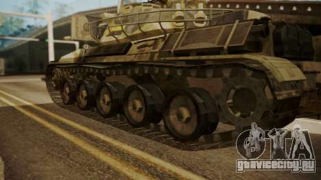 AMX 30 from Mercenaries 2 World in Flames для GTA San Andreas вид сзади слева