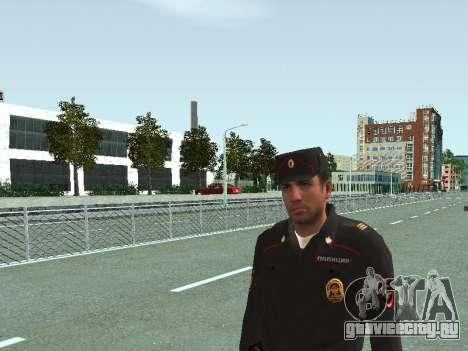 Сержант ППС в форме нового образца для GTA San Andreas