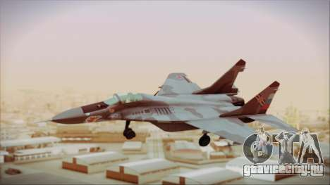 Mikoyan-Gurevich MIG-29A Russian Air Force для GTA San Andreas