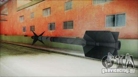 AIM9 Missile для GTA San Andreas второй скриншот